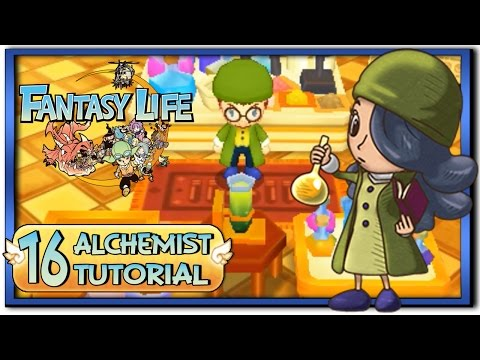 Fantasy Life - Part 16: Alchemist Life Tutorial + Gameplay!