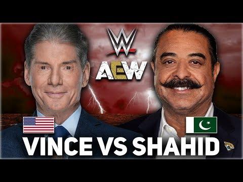 Vince McMahon Vs Shahid Khan   WWE Vs AEW   Who Is Bigger??