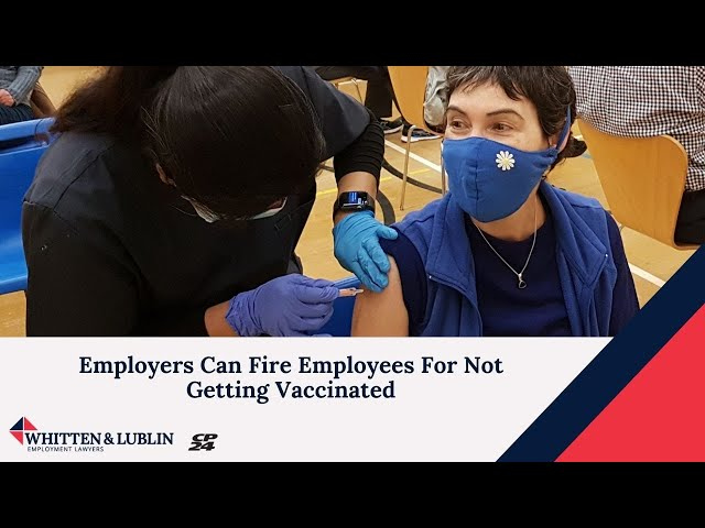 Employers Can Fire Employees For Not Getting Vaccinated - Marc Kitay with CP24