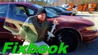 Install Window Regulator & Motor for Buick