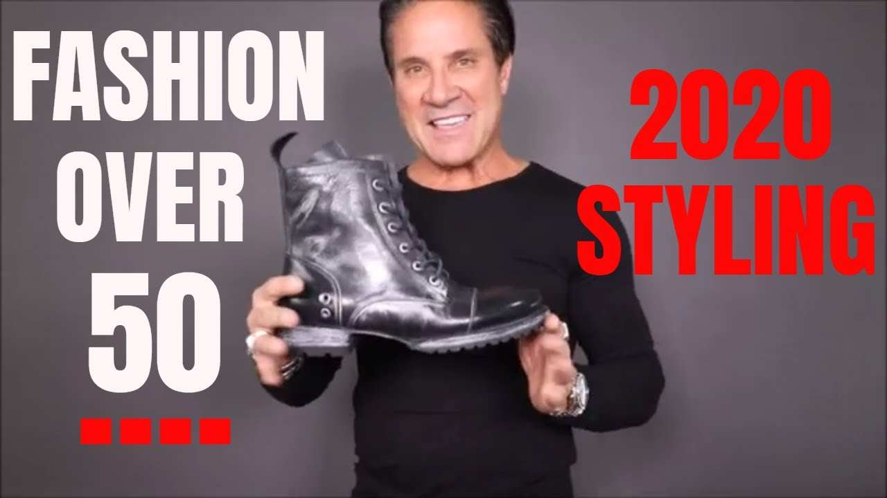Men S Fashion Over 50 2020 Look Better Over 50 Youtube