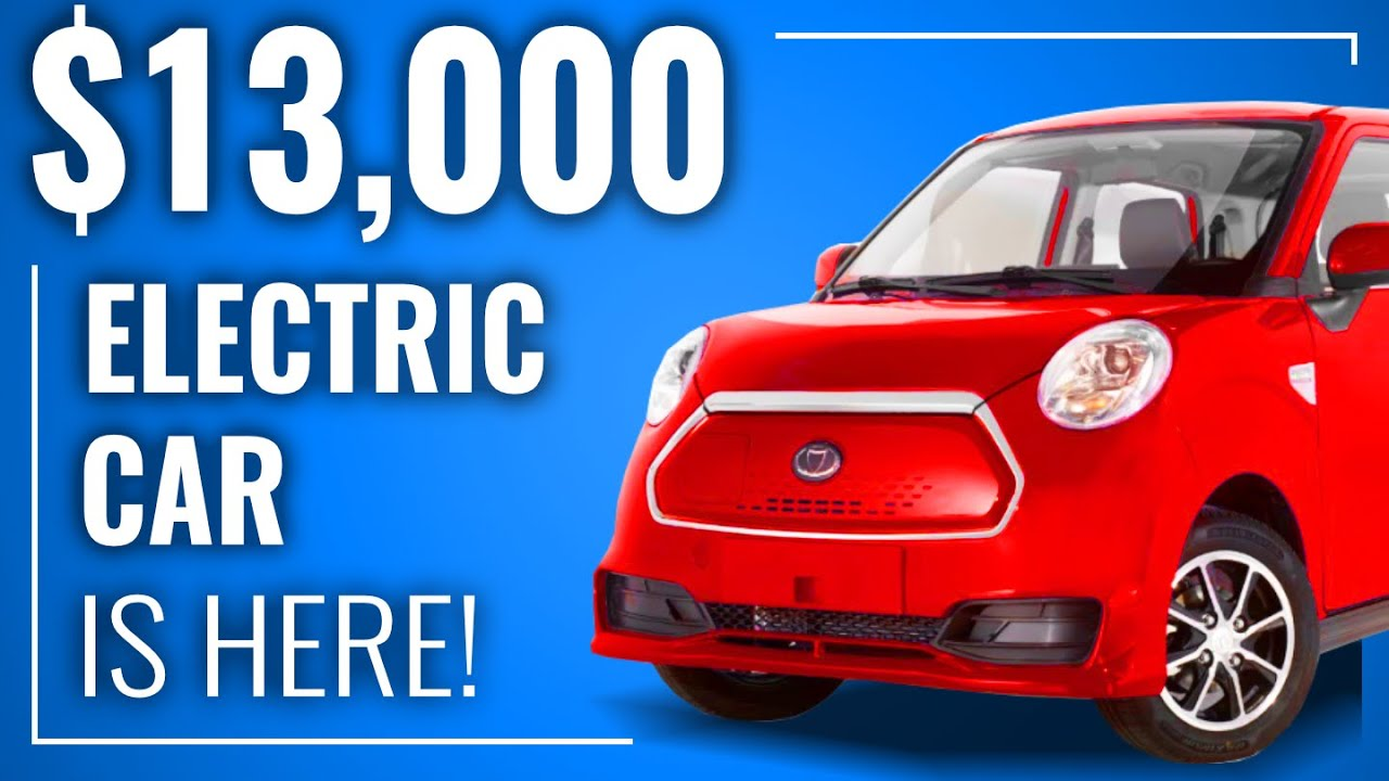 $13,000 Electric Car Coming to US in 2020 | EV News