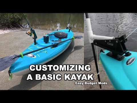 $179 Pelican Kayak: Cheap & Easy Rigging Mods - YouTube