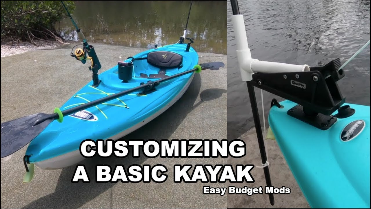 $179 Pelican Kayak: Cheap & Easy Rigging Mods