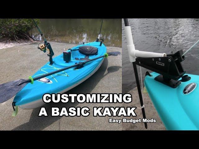 $179 Pelican Kayak: Cheap & Easy Rigging Mods