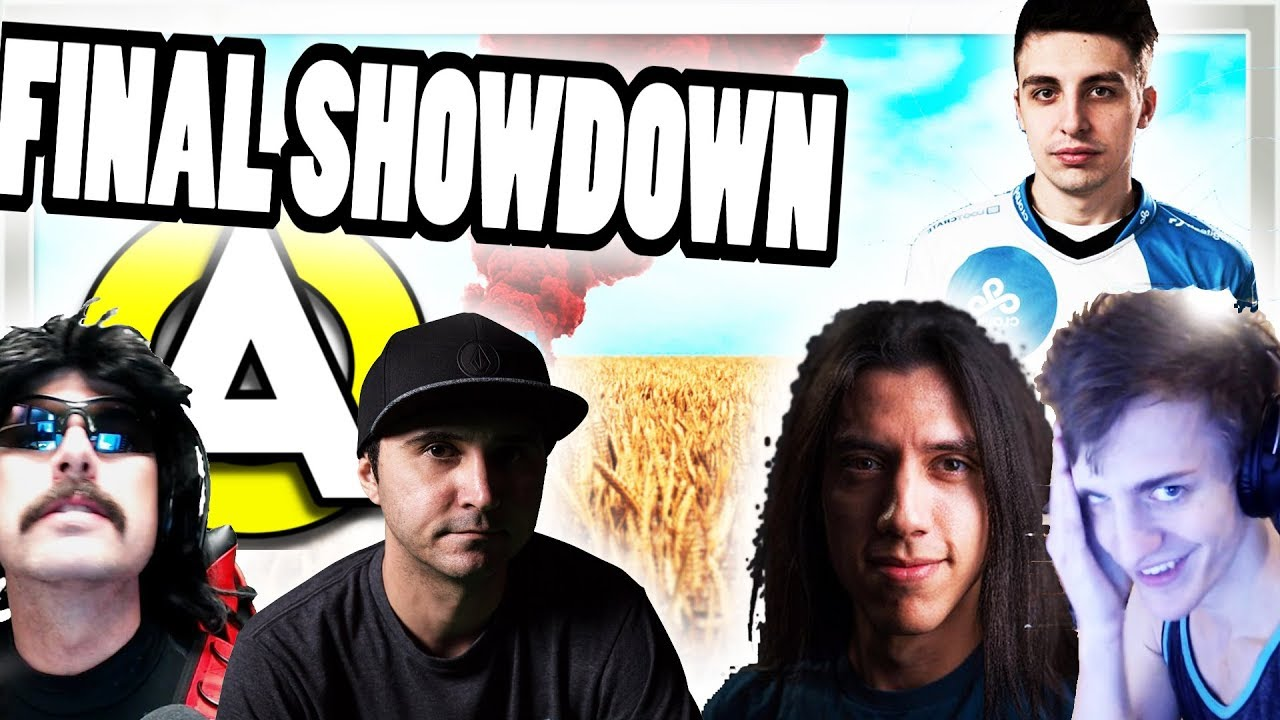 Aculite Vs DrDisrespect VS Summit1g VS Shroud VS Grimmmz VS Ninja | Best  PUBG Streamer Showdown