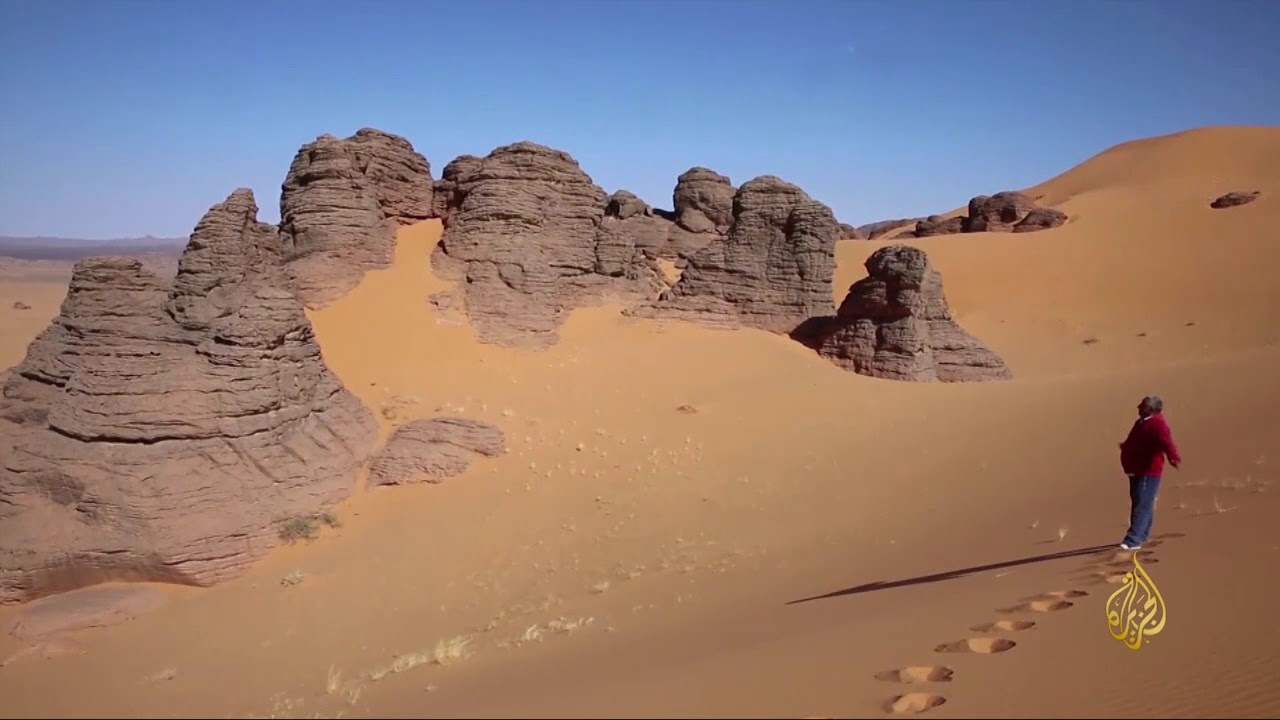 الجزيرة:هذا الصباح- جبال أكاكوس الليبية.. تشكيلات من الفن الصخري