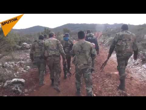 Syrian Army Fights In Latakia