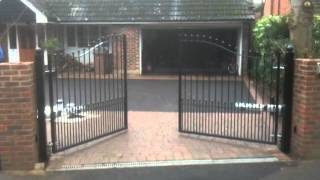 Electric Metal Gate By Parkers Fencing, Kent