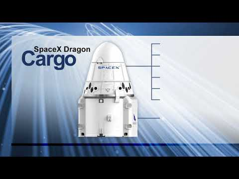 SpaceX Dragon CRS15 - Grapple at ISS - July 1, 2018