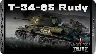 Обзор Т-34-85 Rudy [WoT: Blitz]