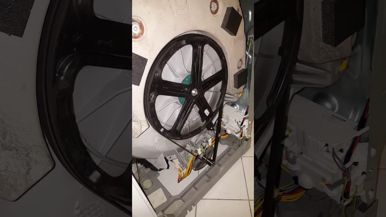 Waschmaschine quietscht knarrt macht komische geräusche? toplader