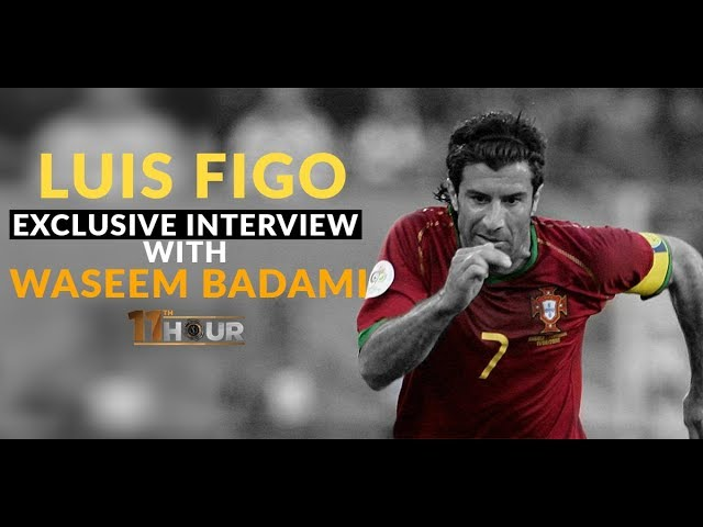 WATCH: Exclusive interview with Portuguese football star Luis Figo