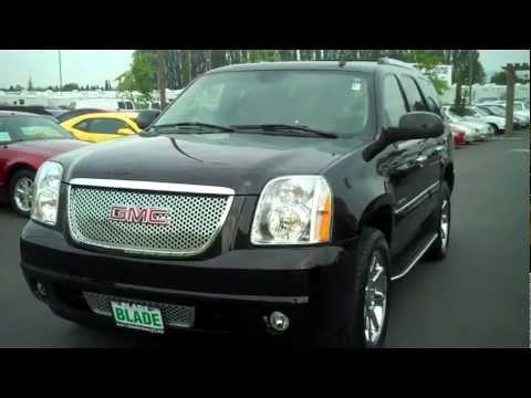 2007 GMC Yukon Denali Onyx Black AWD