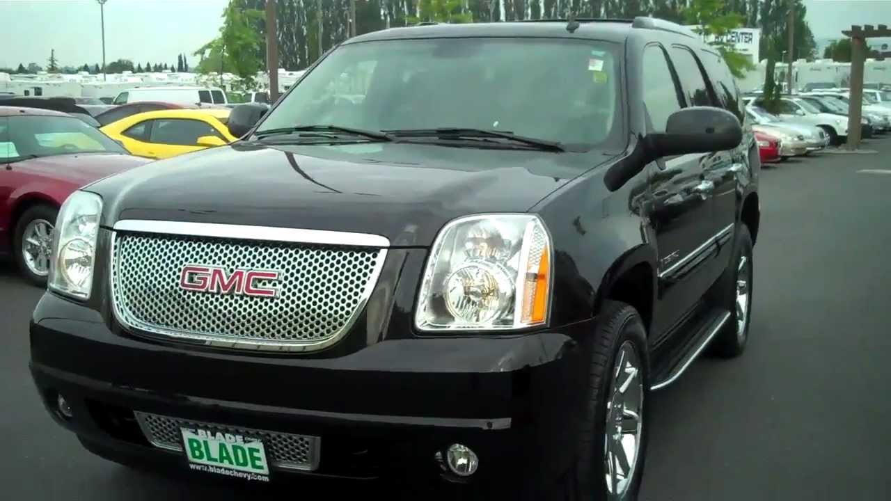 2007 gmc yukon denali onyx black awd youtube. Black Bedroom Furniture Sets. Home Design Ideas