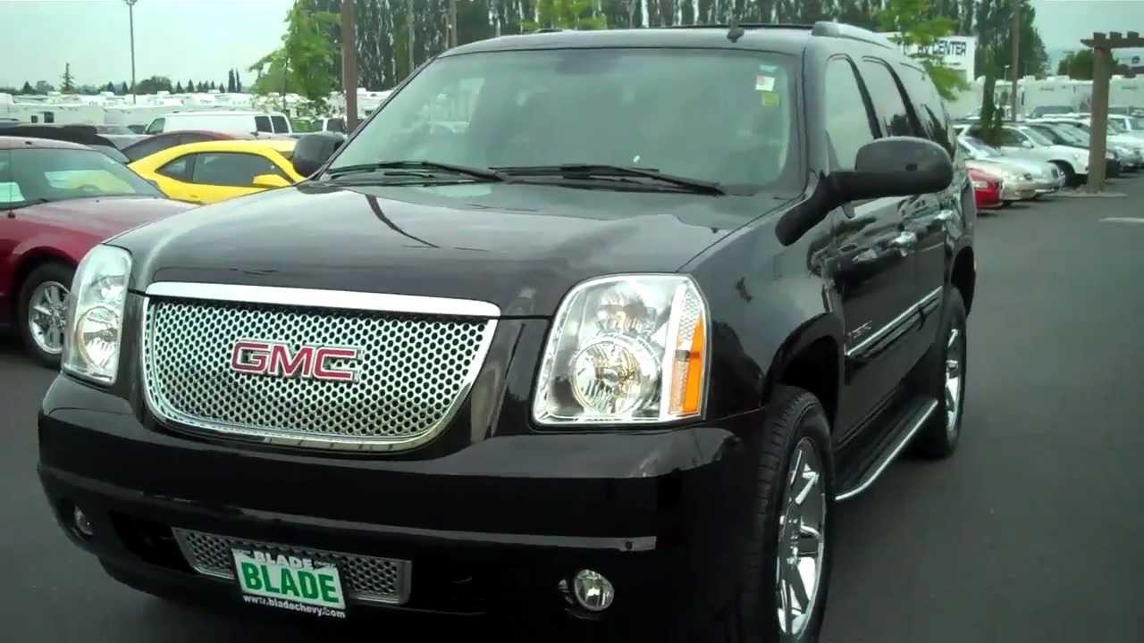 2007 GMC Yukon Denali Onyx Black AWD - YouTube