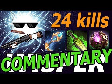 MOST IO KILLS OF 7.07 (w/ Commentary) - Dota 2 Gameplay