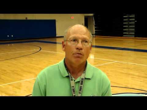 Dreher girls head soccer coach David Kleinfelder