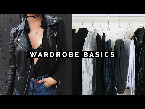 HOW TO BUILD YOUR WARDROBE WITH BASICS
