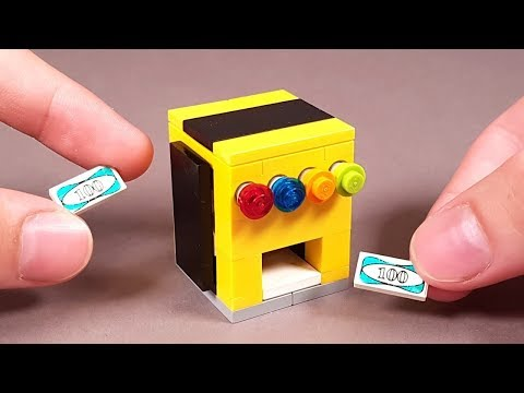 How To Make LEGO Mini SODA MACHINE