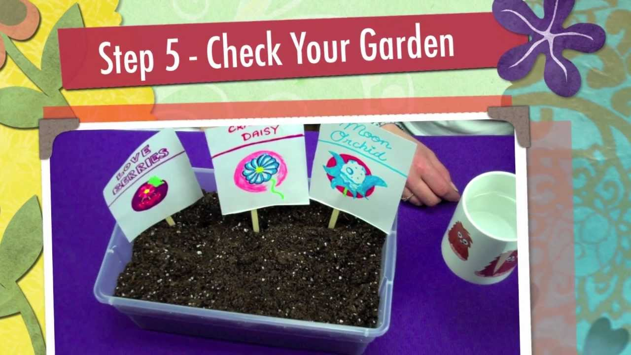 Moshi monsters make your own moshling garden free for Garden maker online