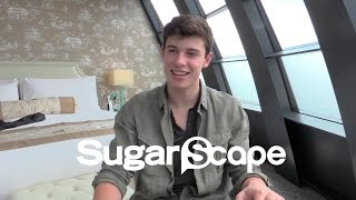 Shawn Mendes talks famous friends and favourite dishes