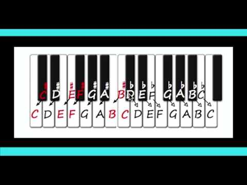 Music Keys Rule - Video 2 of 10 -  Accidentals and Enharmonic Equivalents