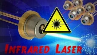 HIGH POWER Burning Laser Pointer 808nm 500mW (Tested)