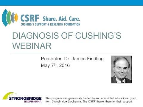 Diagnosis of Cushing's Webinar