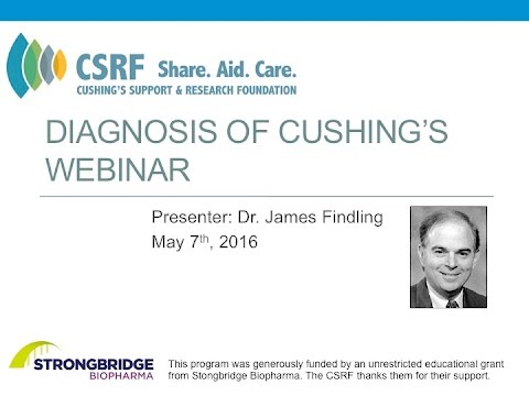 Diagnosis of Cushing's Webinar