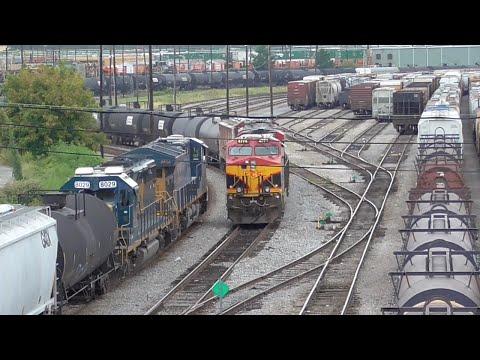 Atlanta's Big Yards of CSX and Norfolk Southern: Tilford and Inman, Atlanta GA, 09/02/2016