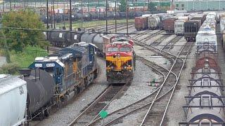 [3T] Atlanta's Big CSX and NS Yards: Tilford and Inman, Atlanta GA, 09/02/2016 ©mbmars01