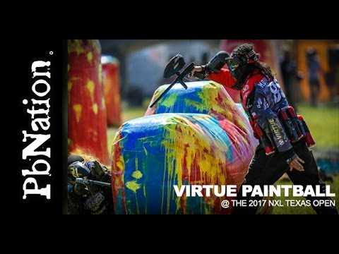 NXL Texas Open with Virtue paintball