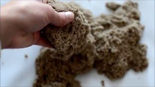 How to Revive Dried Out Kinetic Sand {Sensory Play Tip}