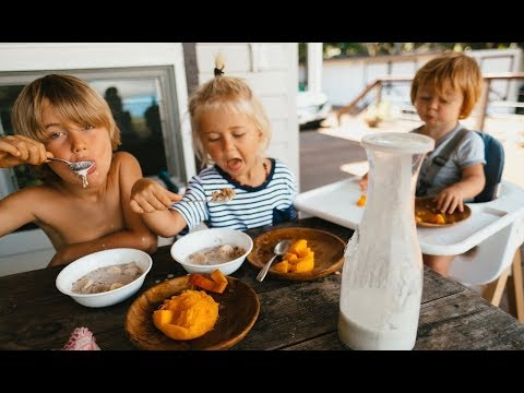 What my Vegan Kids ate Today in Hawaii