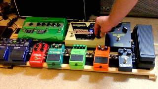 Pedal Board Demonstration - August 2012 (updated Demo Link In Description)