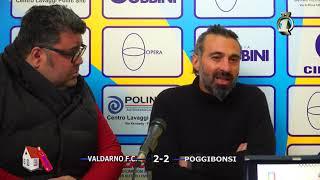 Eccellenza Girone B - Valdarno-Poggibonsi 2-2