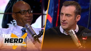 Dak's contract with Cowboys should've been done, talks Rams woes — Eric Dickerson | NFL | THE HERD