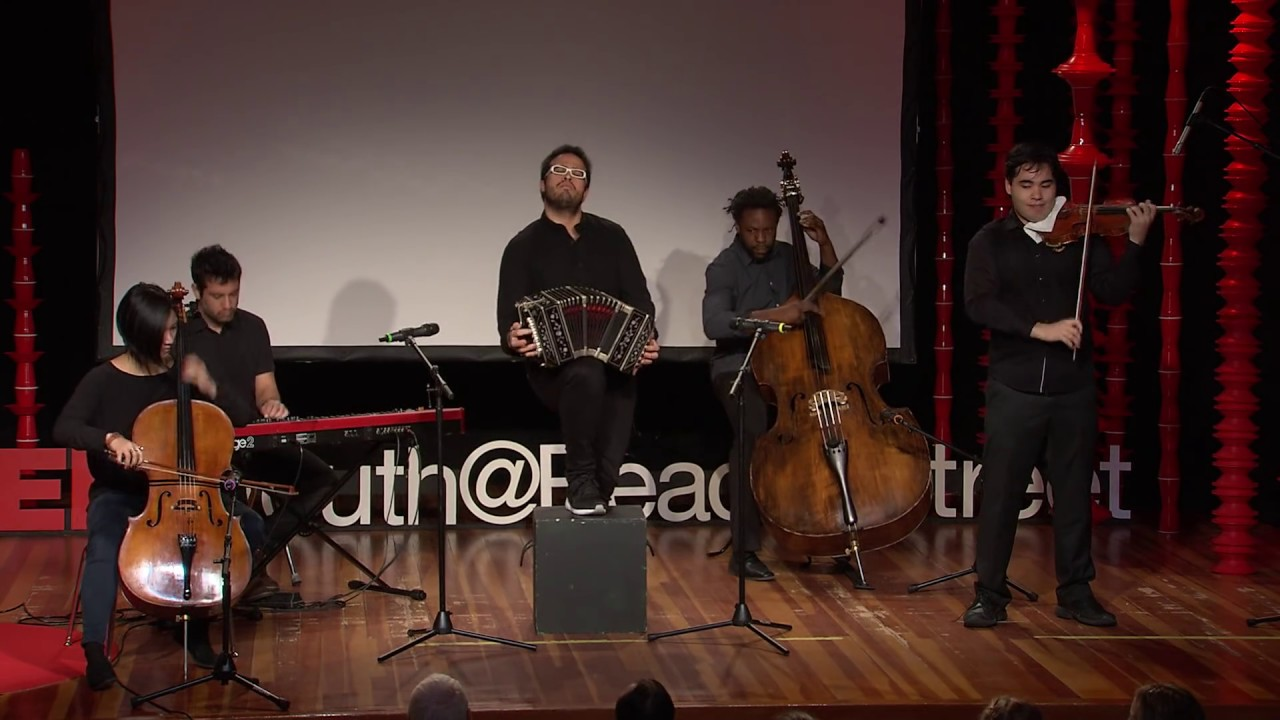 A bandoneonist's journey from the Andes to NYC | JP Jofre | TEDxYouth@BeaconStreet