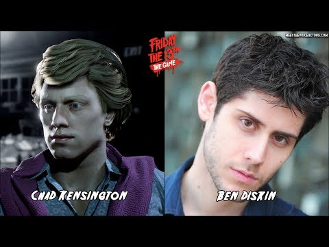 Friday the 13th: The Game  Characters Voice Actors