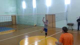 Волейбол! нападающий удар(, 2014-01-14T16:03:57.000Z)