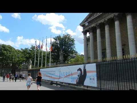 Paris - Assemblée nationale (Palais Bourbon) 2014 08 11