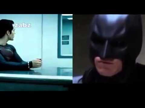 Jamaican Batman vs Jamaican Superman