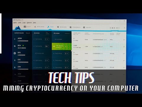 How To Mine Cryptocurrency And Bitcoin On Mac/Windows, Using CPU Or GPU With MinerGate And NiceHash