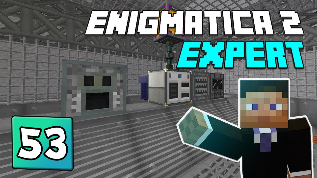 Enigmatica 2: Expert Mode - EP 53 Electric Arc Furnace & Starting Ender IO