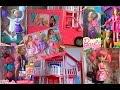 Распаковки кукол Барби (Barbie Mattel) все серии подряд + Рапунцель Дисней, Купидон Евер Афтер Хай