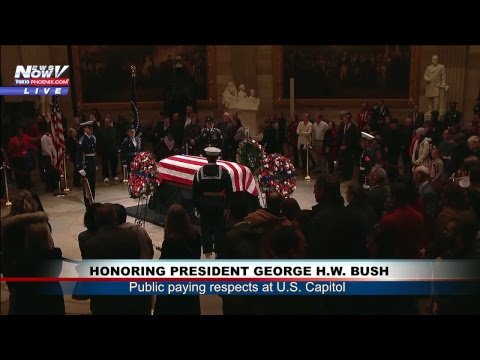 FNN: Full Coverage Honoring President George H.W. Bush in Washington D.C.