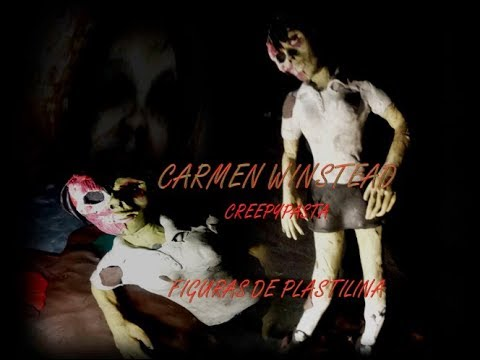 Carmen Winstead Creepypasta -  Figura De Plastilina