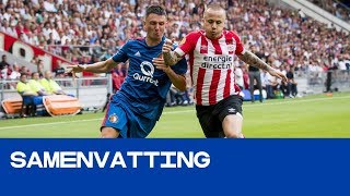 HIGHLIGHTS | PSV - Feyenoord (Johan Cruijff Schaal 2018)