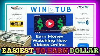 HOW TO EARN 80$ - 200$ IN JUST WATCHING VIDEO CLIPS  | FREE | WIN-TUB